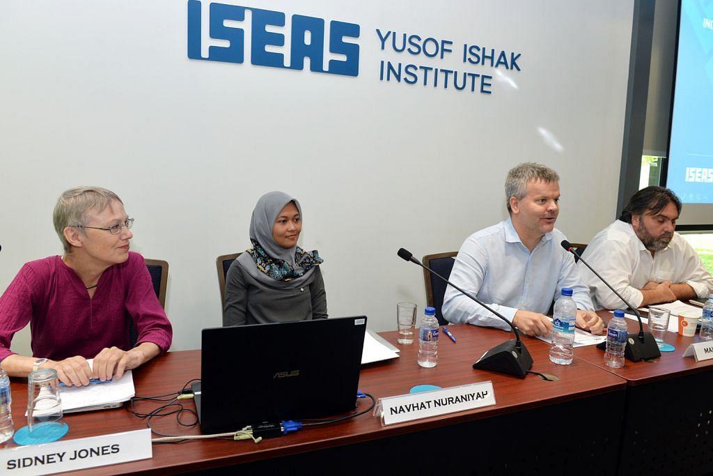 SEMINAR MENGENAI PENGARUH KE ATAS PELAJAR INDONESIA DI MESIR DAN TURKEY Dapatan: Ideologi radikal ISIS ditolak, dikutuk