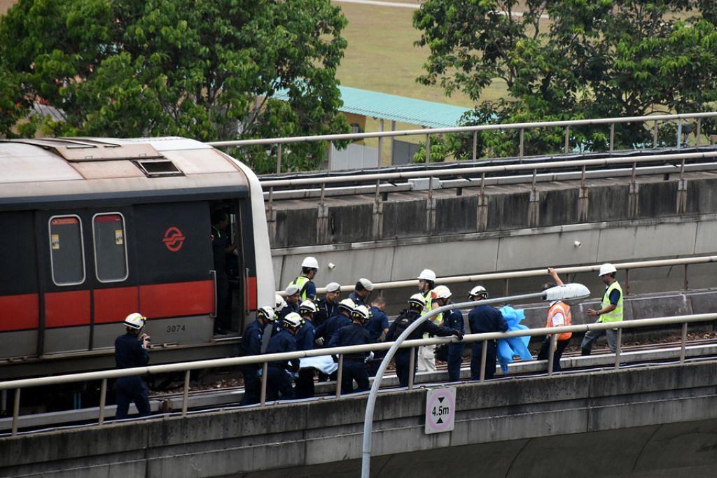 SMRT selesai siasatan ke atas punca nahas di rel