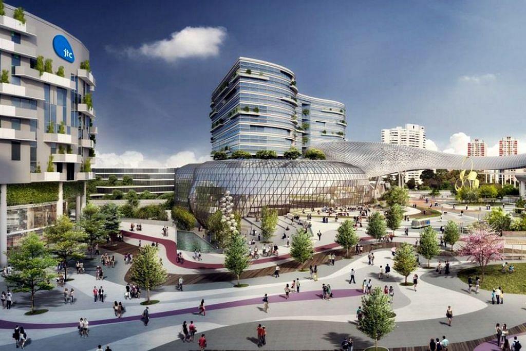 Kawasan Inovasi Jurong bantu tembus bidang pertumbuhan baru