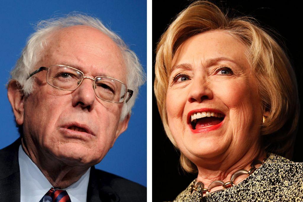 Isu dagang dan 'Panama Papers' jadi topik debat Sanders, Clinton