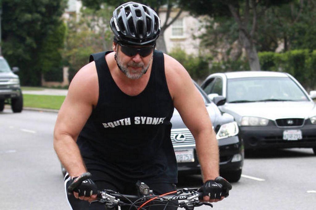 Russell Crowe kerja keras bagi kurangi berat badan