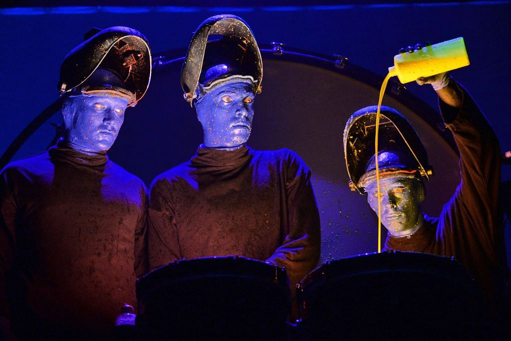 Blue Man Group ubati haru-biru