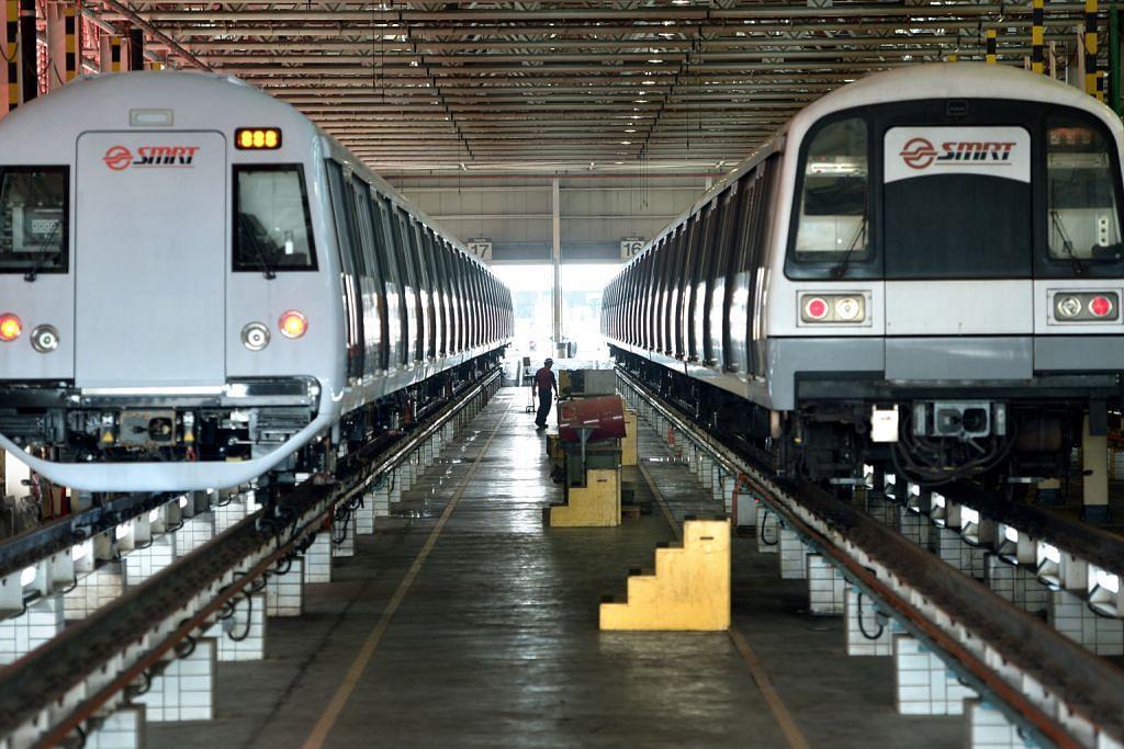 'Tren MRT perlu gerak 200,000 km sebelum terganggu'