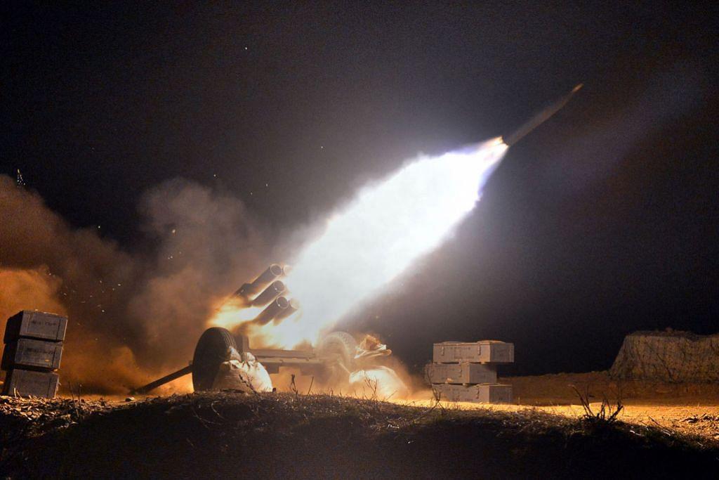 Korea Utara siap lancar peluru berpandu