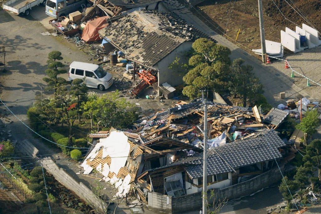 Gempa bumi di Jepun: Puluhan ribu terjejas