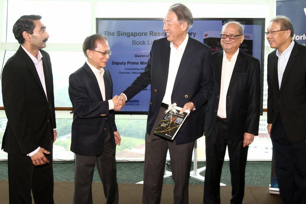 Chee Hean: S'pura akan terus asuh pakar hasilkan huraian inovatif bagi negara, dunia
