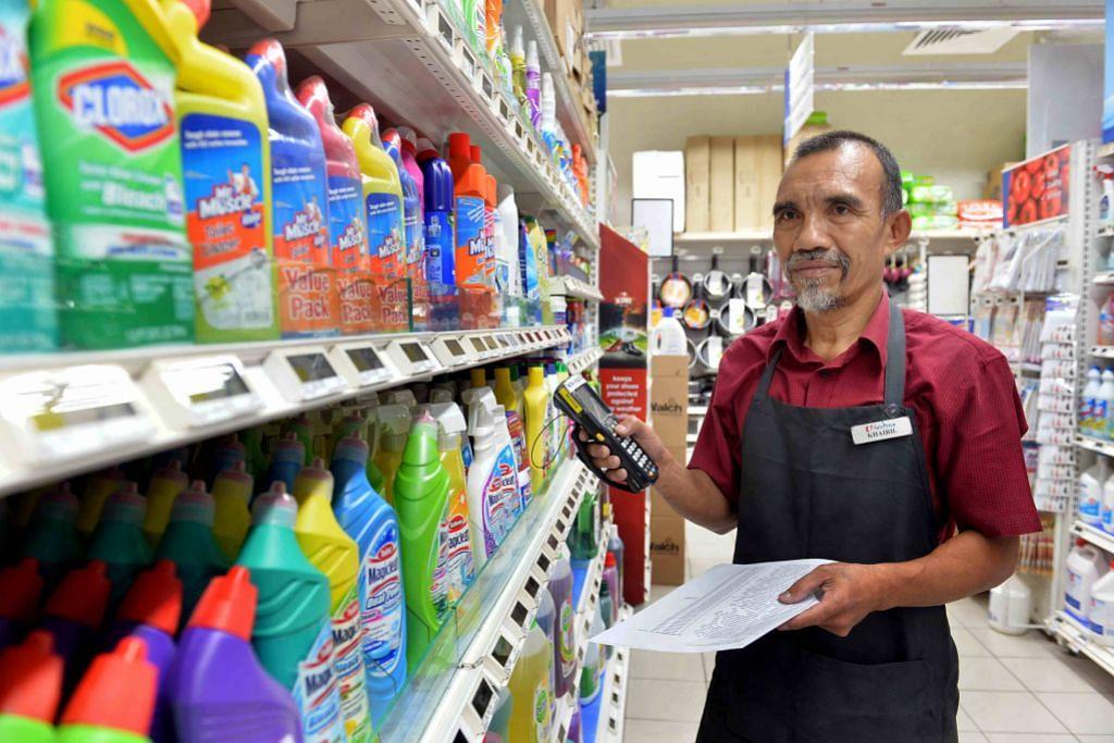 Ghairah dapat terus bekerja di pasar raya
