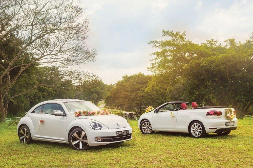 PROMOSI Volkswagen tawar sewa kereta untuk pengantin
