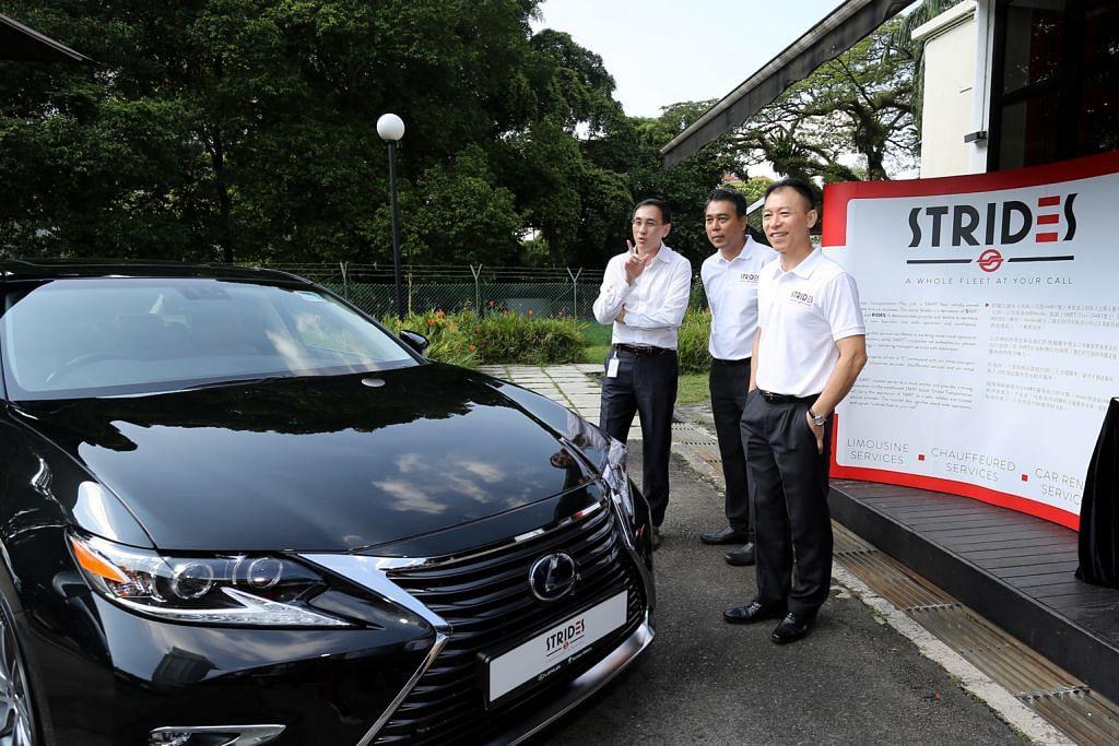 SMRT Taxis lancar khidmat kereta sewa bersama pemandu
