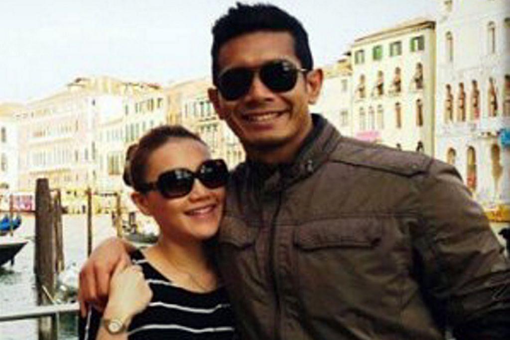 Isteri Fahrin letak jawatan setelah hamil 15 minggu