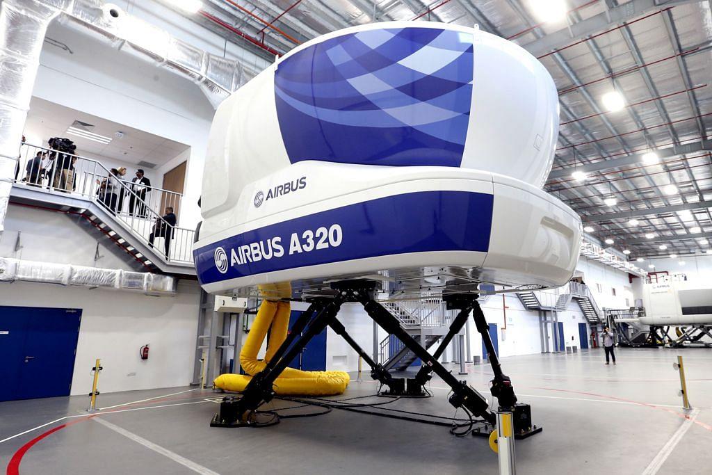 Airbus, SIA lancar pusat latihan penerbangan $134j