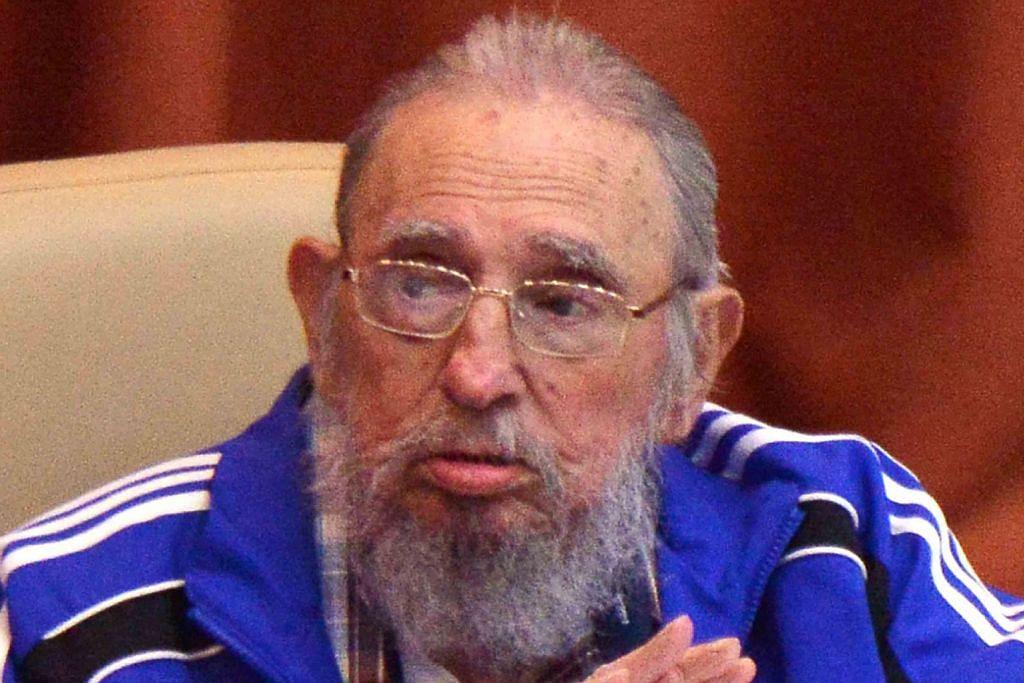 Fidel Castro muncul dari pemencilan