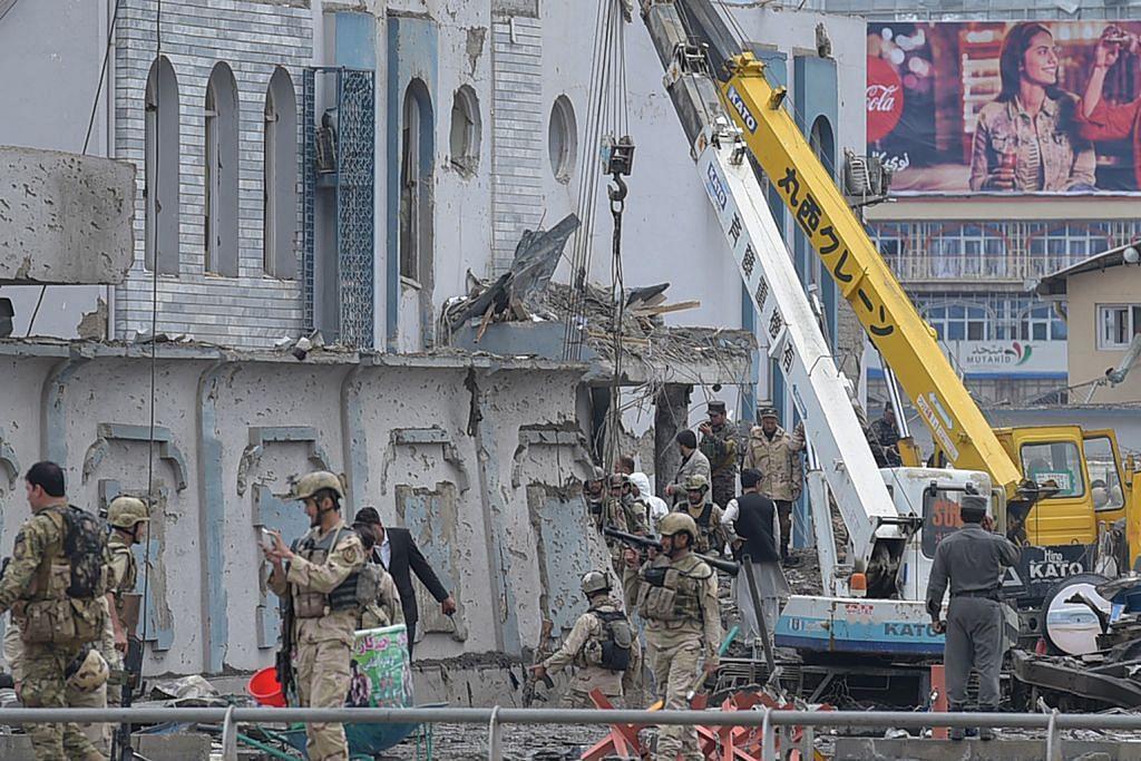 30 mati, lebih 300 cedera dalam serangan bom nekad di Kabul