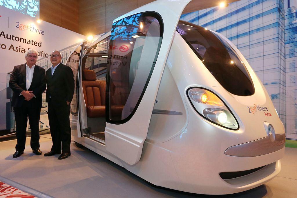 Usaha sama SMRT, firma Belanda bolehkan kenderaan tanpa pemandu dibawa ke sini