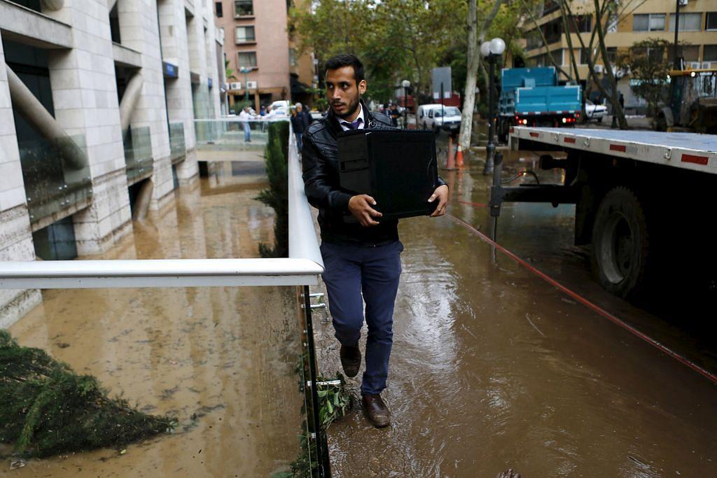 Ribut, banjir landa Amerika Selatan