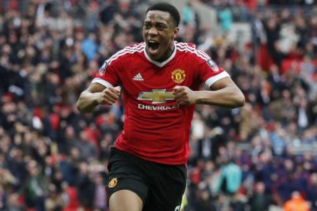 Gol Martial bawa United ke final PIALA FA