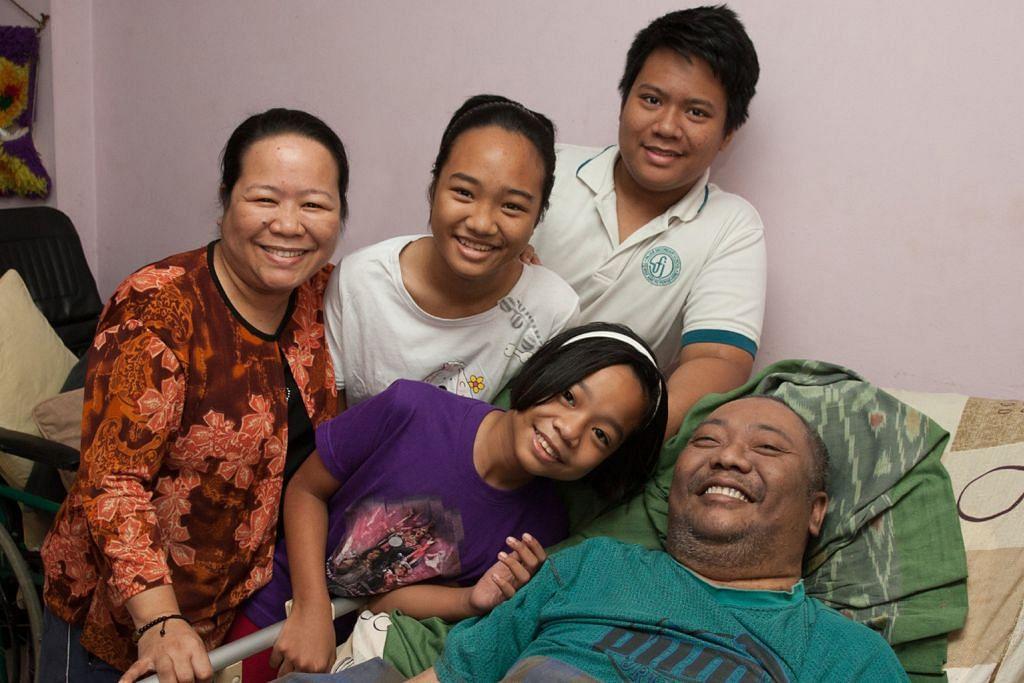 Isteri sara hidup keluarga selepas suami sakit