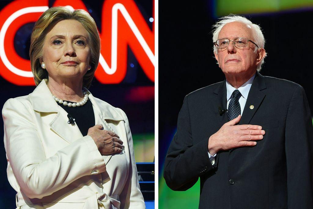PENCALONAN PILIHAN RAYA PRESIDEN AMERIKA SYARIKAT Sanders nafi hadapi tekanan agar berundur