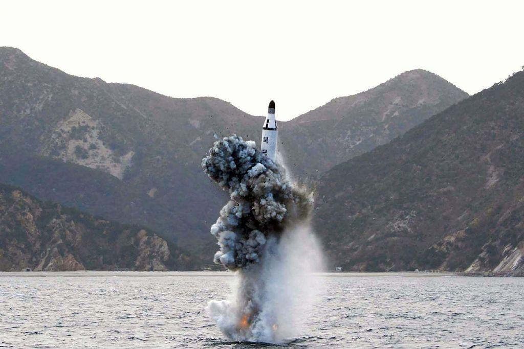 Tindakan Korea U lancar ujian peluru berpandu dikutuk