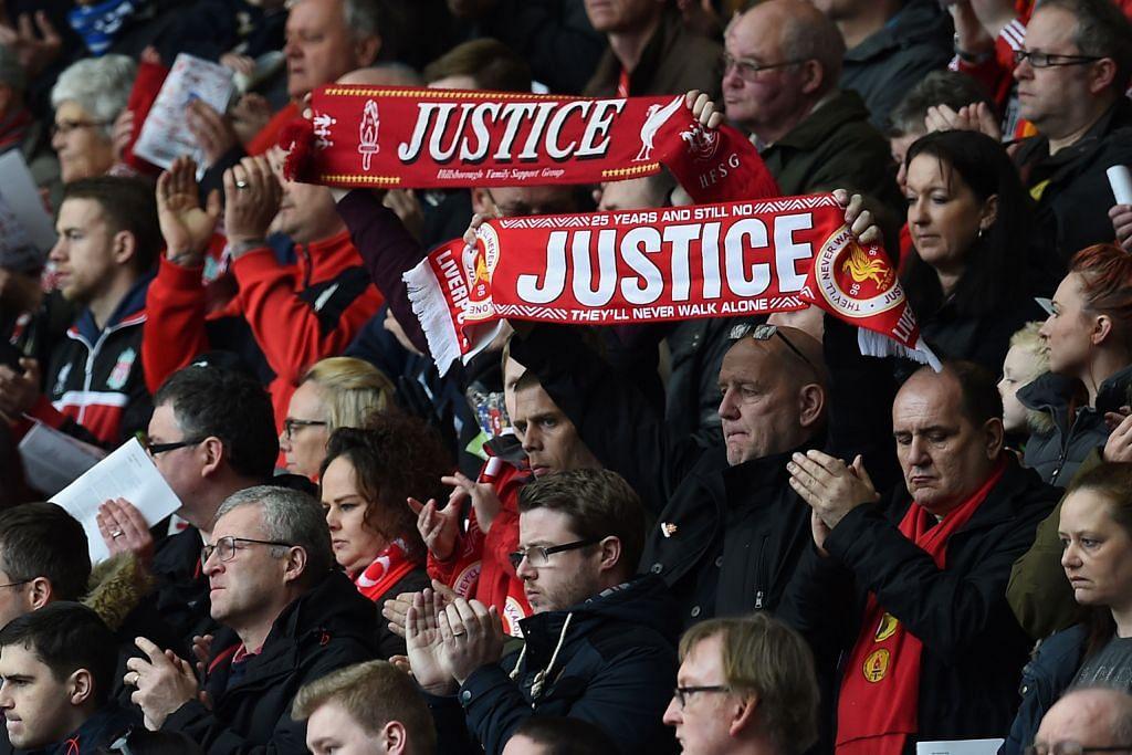 Juri: 96 peminat Liverpool mati secara tidak sah, sebahagiannya disebabkan kesilapan polis TRAGEDI HILLSBOROUGH 1989