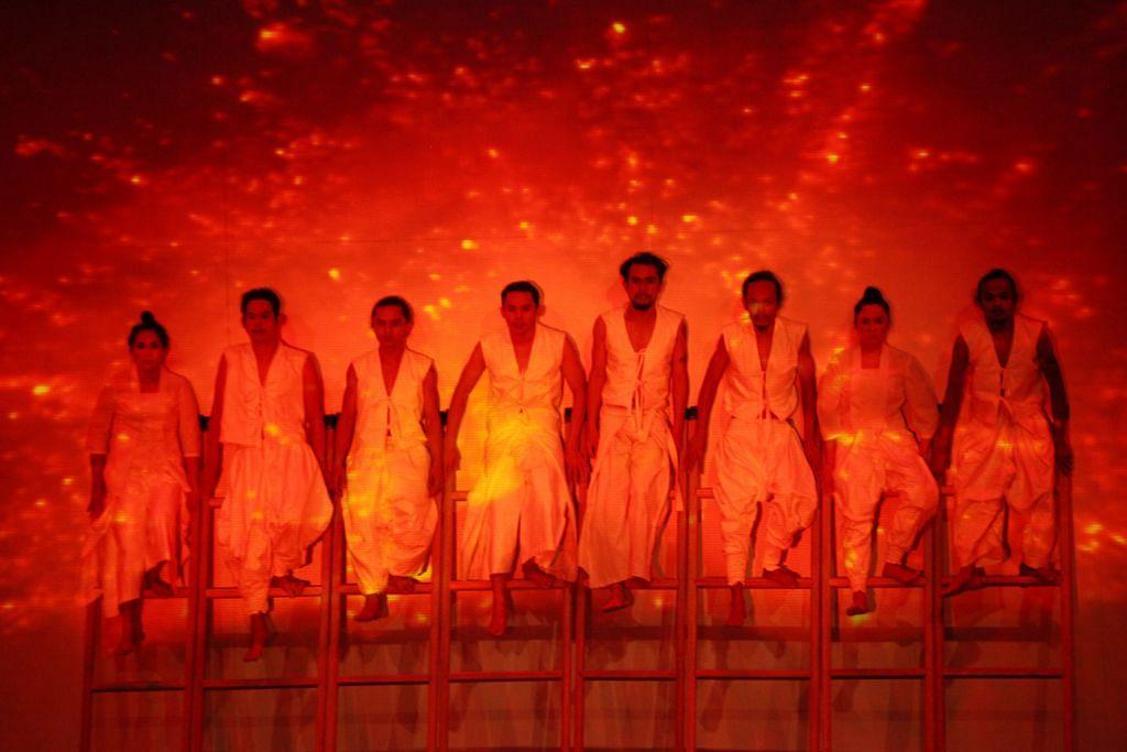 Paparan rasa tabah hadapi ledakan Krakatau