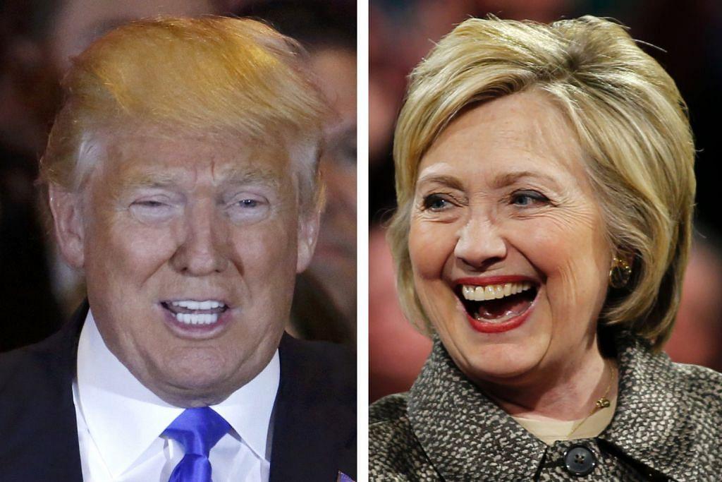 PENCALONAN PILIHAN RAYA PRESIDEN AMERIKA SYARIKAT Trump, Clinton terus kuasai pemilihan utama