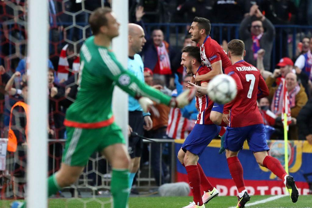 LIGA JUARA-JUARA Gol solo Niguez beri kelebihan kepada Atletico
