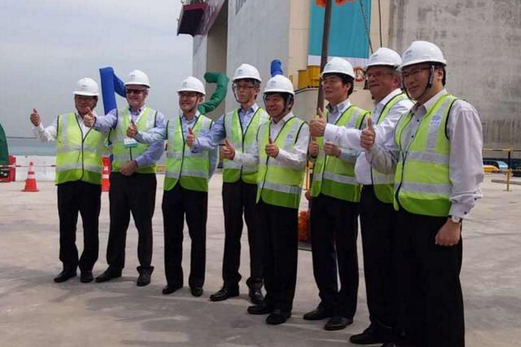 Pembinaan fasa pertama Terminal Tuas dilancar