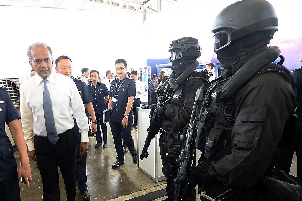 Shanmugam lihat unit baru polis perangi pengganas