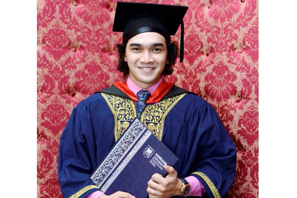 Usaha keras Nadzmi di bidang lakonan, akademik bawa hasil
