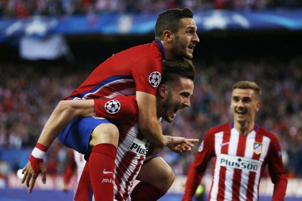 LA LIGA SEPANYOL Lumba tiga penjuru di puncak La Liga