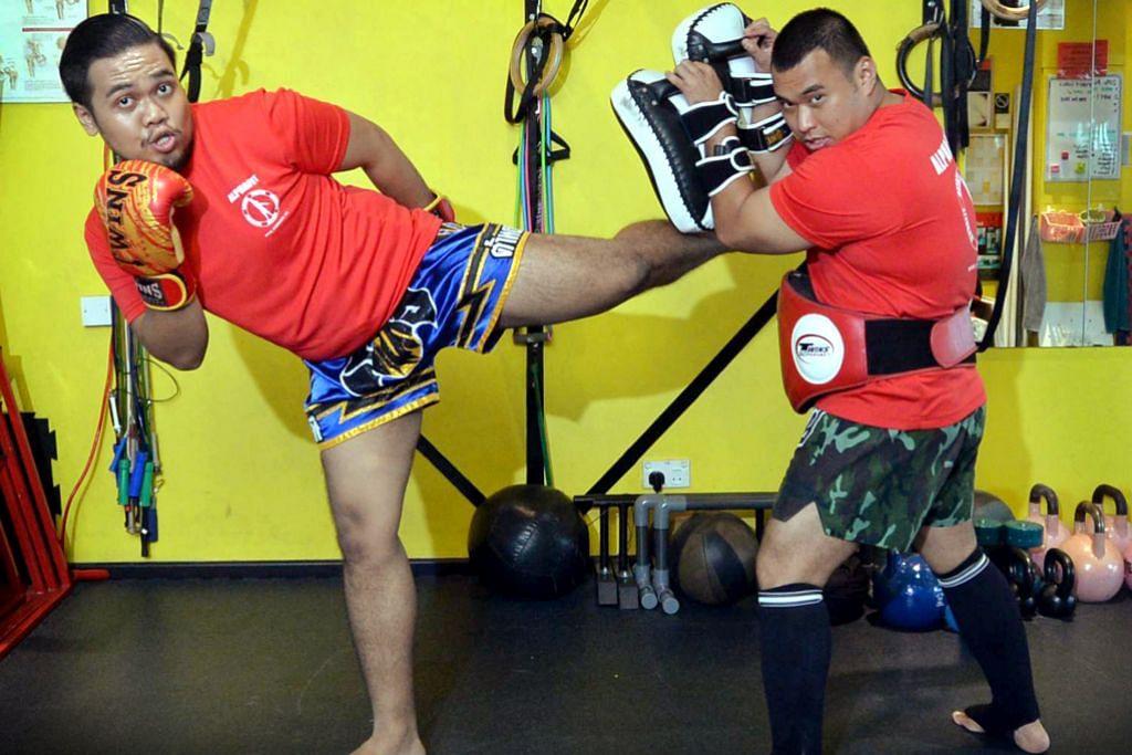 Bersedia teguhkan jiwa rapuh belia dengan Muay Thai