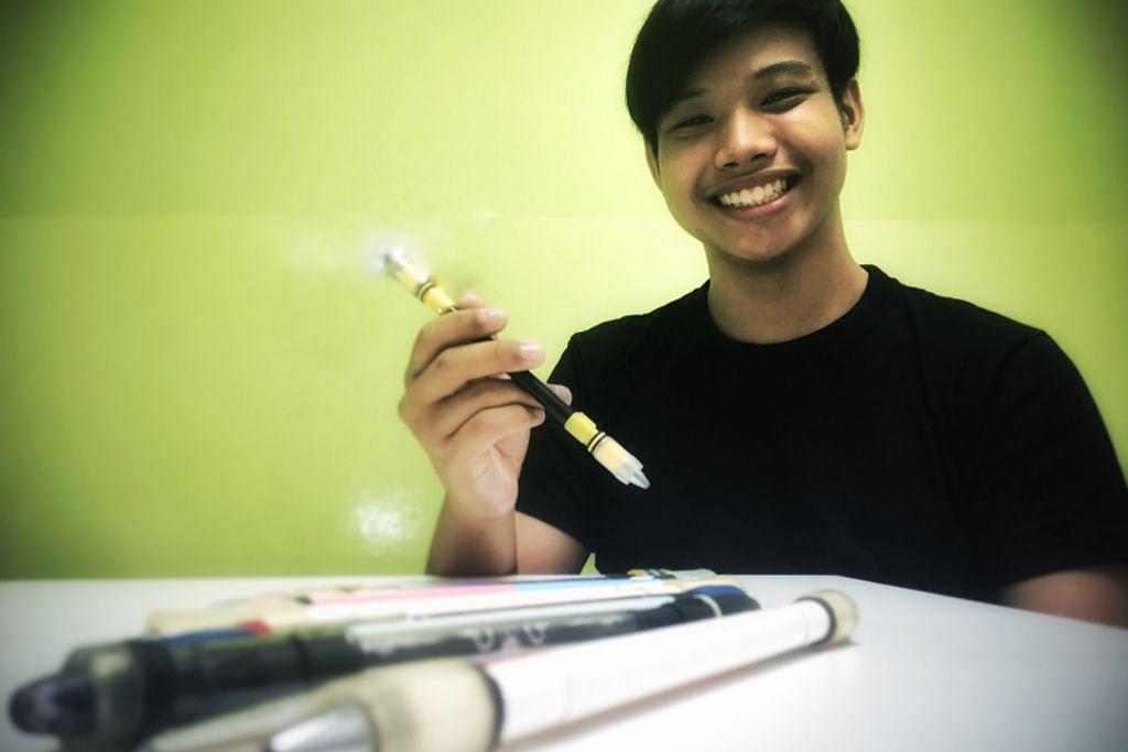 Jadikan pen sebagai permainan