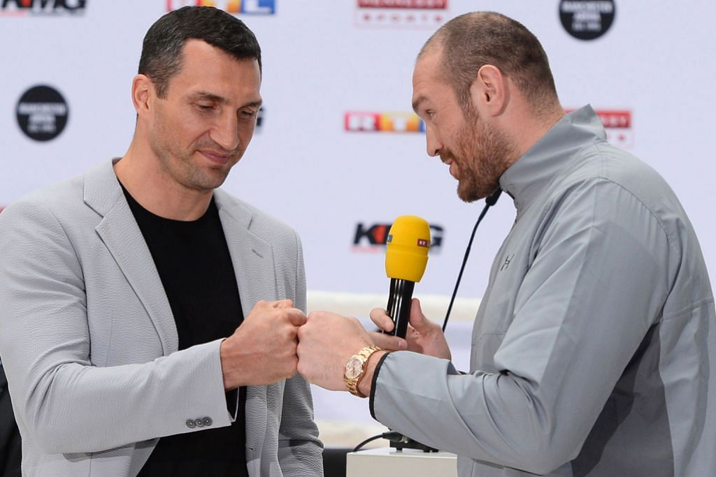 TINJU Fury tuduh Klitschko petinju 'selamat'