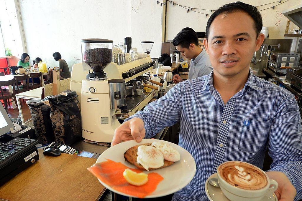 Buka kafe dek 'jatuh cinta' dengan budaya kopi