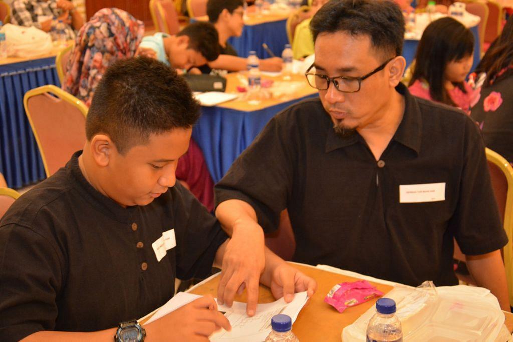 60 ibu bapa dan anak sertai bengkel matematik
