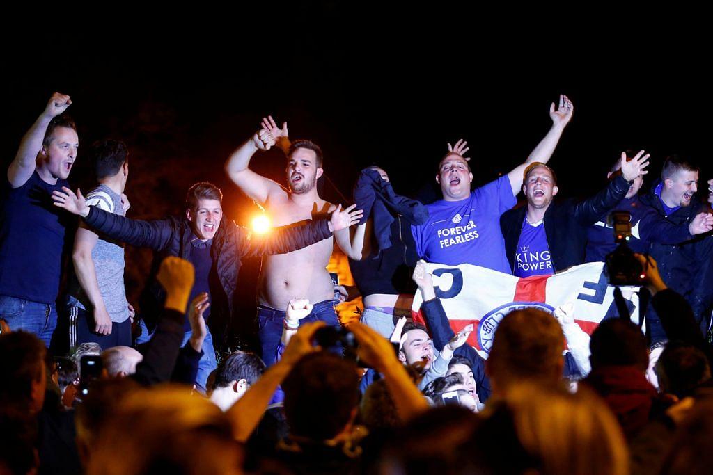 LIGA PERDANA ENGLAND Pesta bermula bagi Leicester