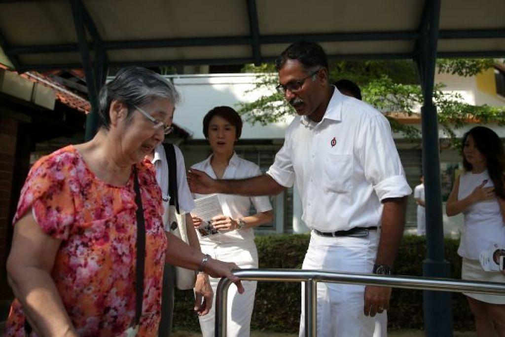 Keperluan warga tua terus jadi keutamaan Murali PILIHAN RAYA KECIL BUKIT BATOK