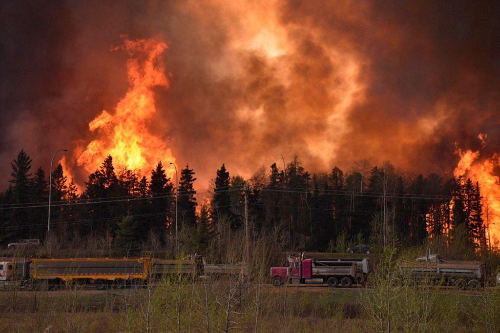 Kebakaran hutan di Canada kian teruk