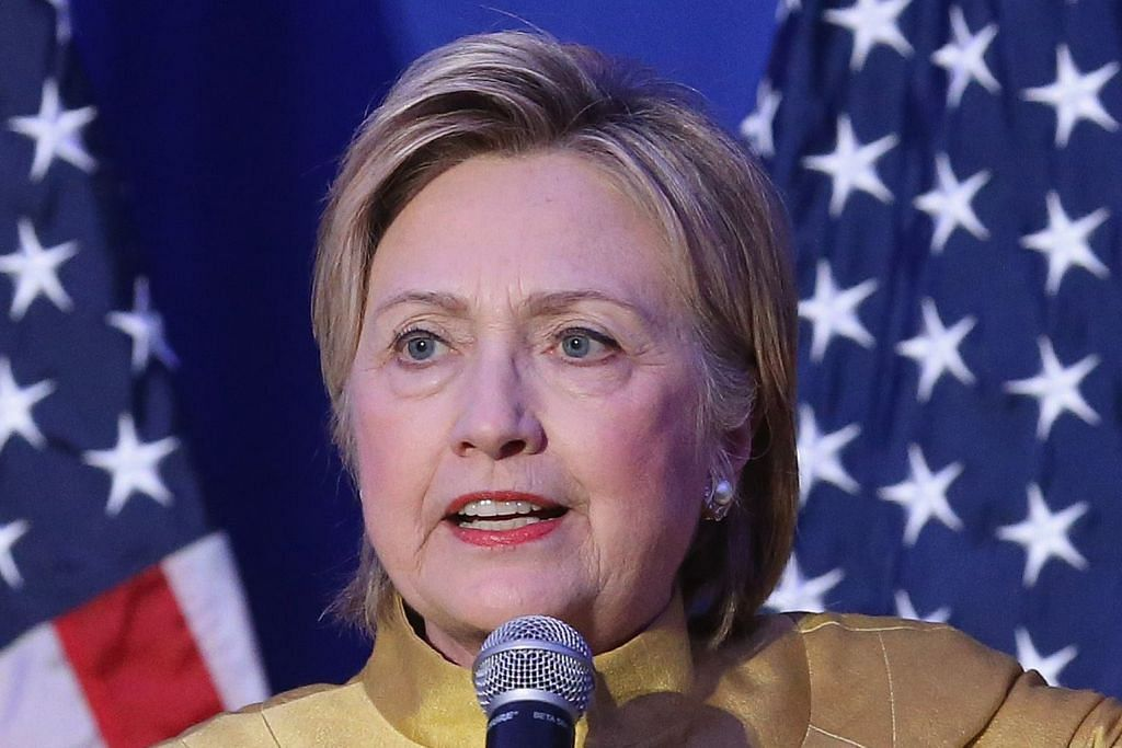 Clinton sifatkan Trump mulut celupar