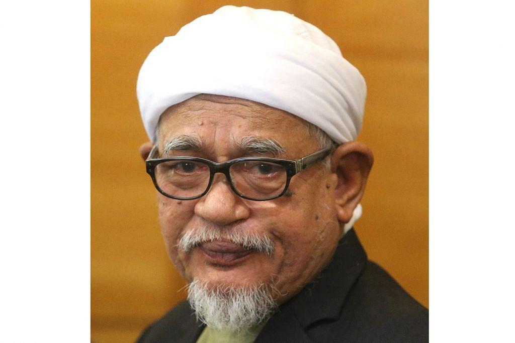 Datuk Seri Abdul Hadi Awang.