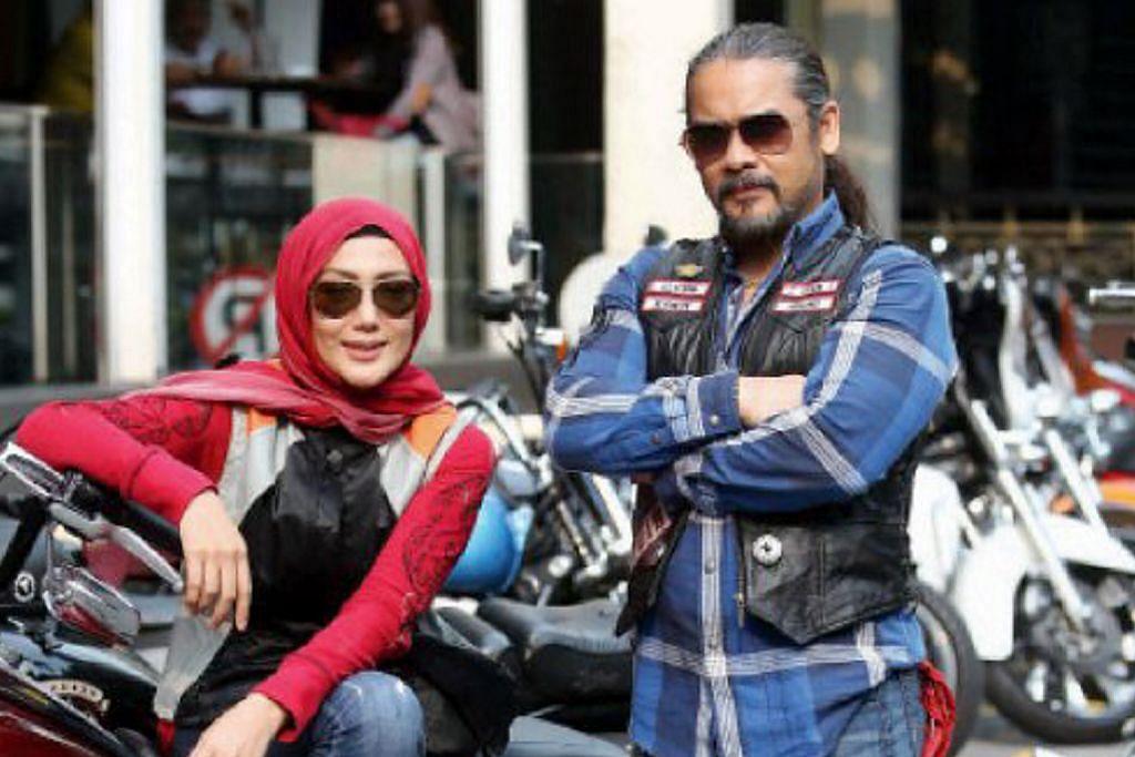 Awie, Erra dilantik duta acara amal kelab motosikal