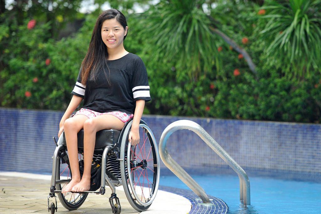 Perenang paralimpik Yip pecah rekod dunia 100m RENANG PARALIMPIK