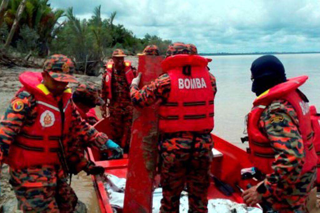 Pasukan penyelamat temui mayat wanita HELIKOPTER TERHEMPAS DI SARAWAK