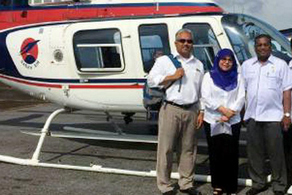Serpihan helikopter hilang di Sarawak ditemui