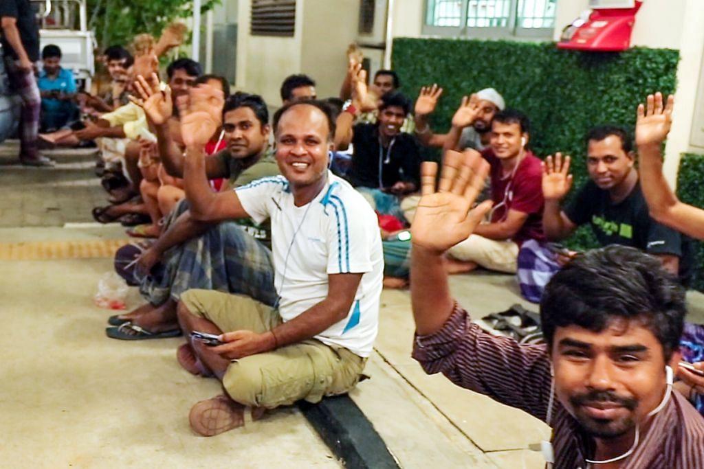 PENAHANAN PEKERJA BANGLADESH DI BAWAH ISA Pekerja Bangladesh di Singapura akui insiden cemar nama baik mereka
