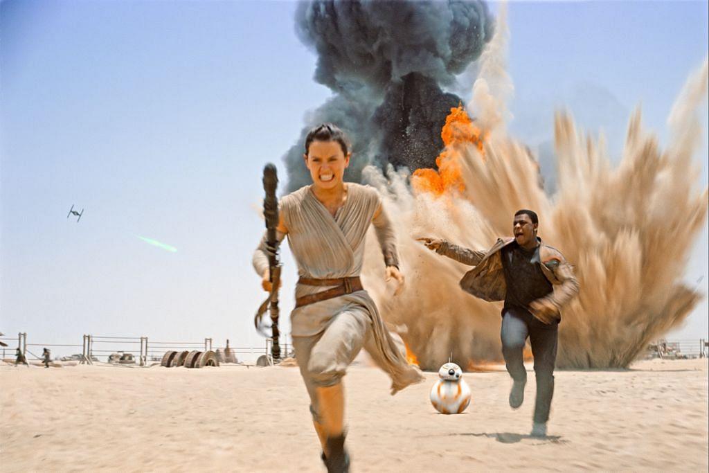 Selepas 'Star Wars', Daisy Ridley semakin popular