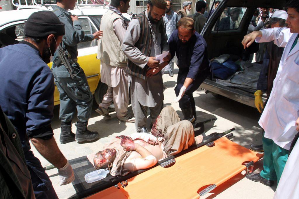 Puluhan maut di Afghanistan akibat dua bas dan lori tangki bertembung