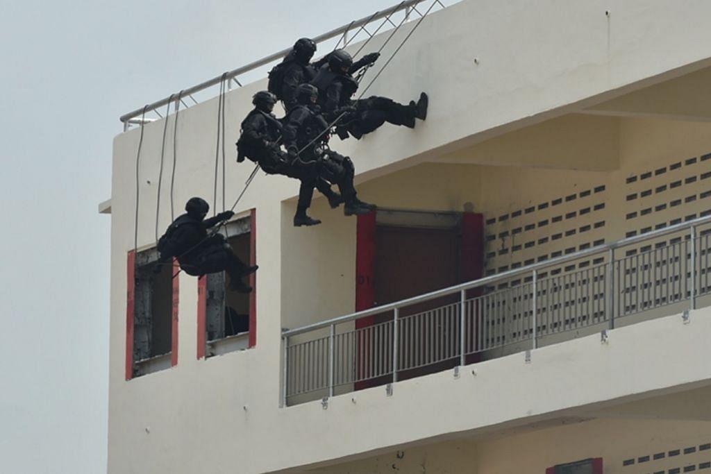 Pasukan khas SAF sertai latihan berbilang negara