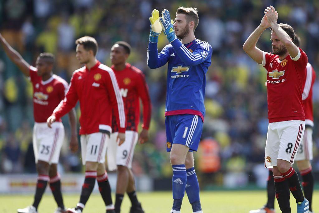 LIGA PERDANA ENGLAND Liga Juara-Juara dalam jangkauan United